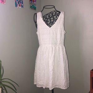 Medium White Lace One Clothing Dress